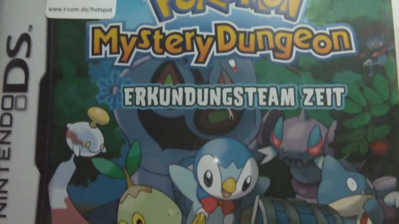 pokemon mystery dungeon erkundungsteam zeit