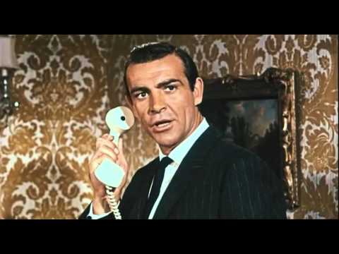 Vintage James Bond - From Russia with Love - German Trailer