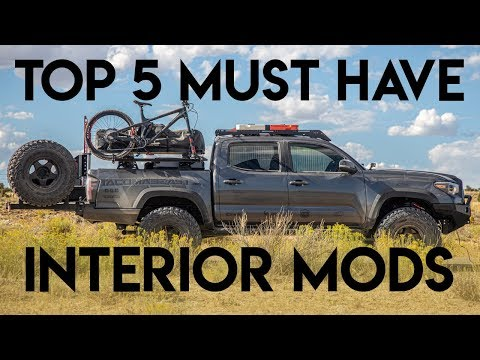 Top 5 Must Have Interior Mods For Your Toyota Tacoma | Best Bang For Your Buck!