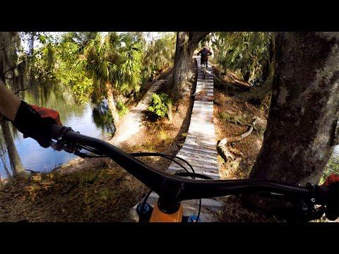 Shreddin' The Swamplands | Mountain Biking Carter Road In Florida