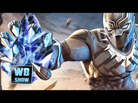 Marvel: Contest of Champions - Civil War BLACK PANTHER CRYSTALS + Battles