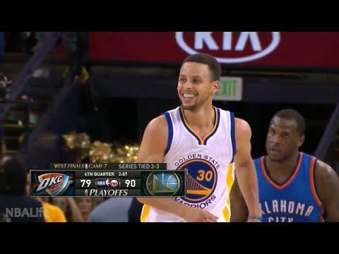 Stephen Curry 2016 NBA Playoffs Highlights | WCF & Finals