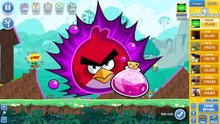 Angry Birds Friends Tournament 301-B Level 2 POWER UP Walkthrough