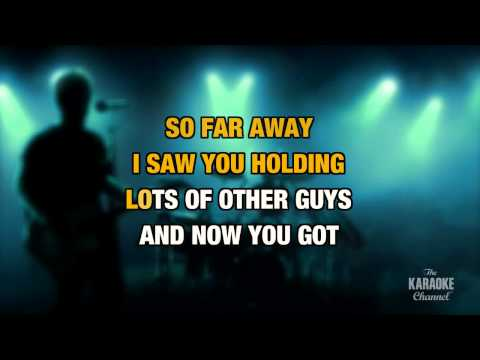 I Can See For Miles in the style of The Who | Karaoke with Lyrics