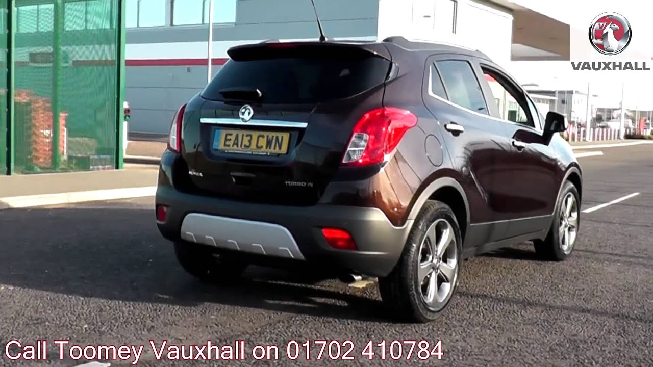 2013 vauxhall mokka se deep espresso ea13cwn for sale at toomey vauxhall southend youtube. Black Bedroom Furniture Sets. Home Design Ideas