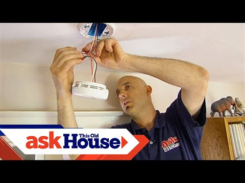 How to Install Smoke and Carbon Monoxide Detectors | Ask This Old House