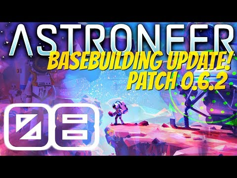 CHECK OUT THE NEW FIREWORKS! | Basebuilding Update | Astroneer 0.6.2 #8