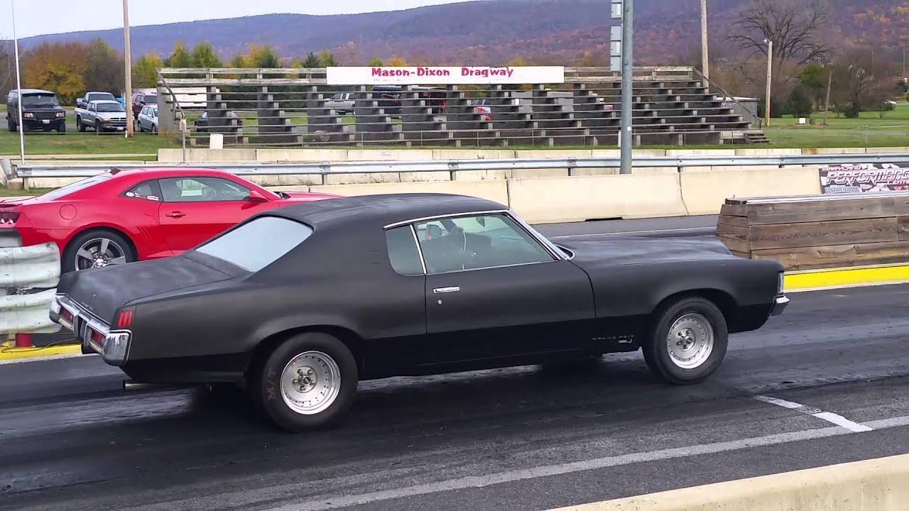1969 Grand Prix drag strip