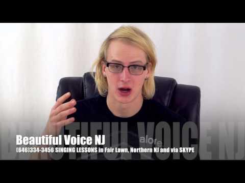 Voice lessons singing teacher new jersey nj
