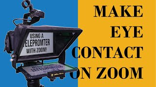 ⭕ Simple Teleprompter Trick For Zoom