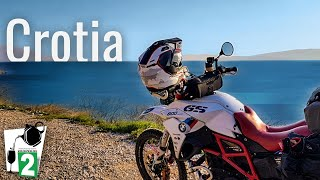 Europe motorcycle riding - Spain to Croatia