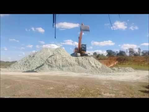 Mining begins