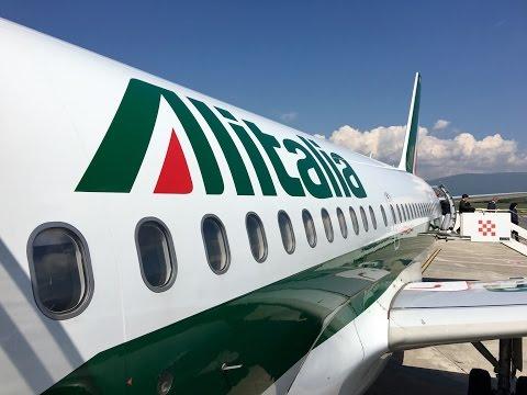 Alitalia | Airbus A321 | A319 | LHR-FCO-FLR | Economy