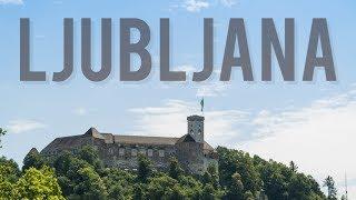 Ljubljana - The rain