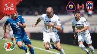 ¡Pumas saca las garras! | Pumas 1 - 1 Monterrey | Clausura 2019 - J5 | Televisa Deportes