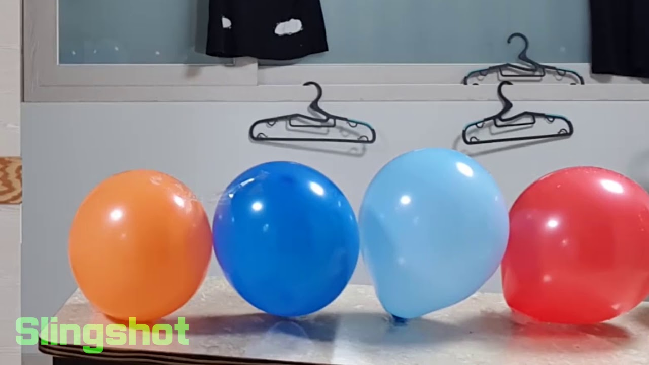 Toy Gun vs Balloons (Amazing results)
