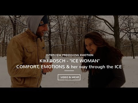 Kiki Bosch Interview - IceWoman Extrem - talks about COMFORT, EMOTIONS and her way through the ICE