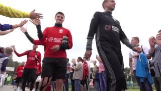 Сборная Беларуси по футболу провела открытую тренировку в новом формате