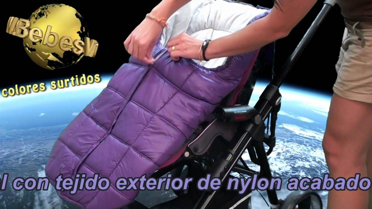Saco silla bebe youtube for Sillas para coche grupo 2