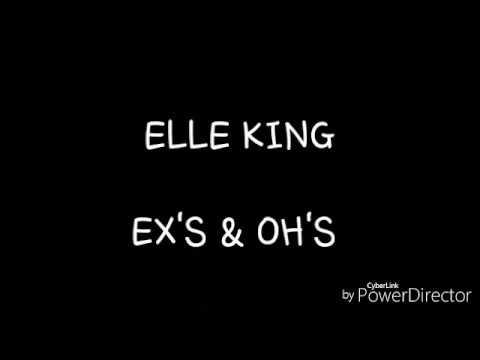 Elle King - Ex's & Oh's ( lyrics Ingles y Español)