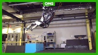 Veel mensen kunnen het niet, maar deze robot wel: een salto achtero...