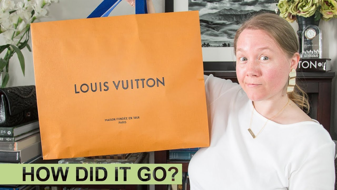 4958e1b7d28a My First Experience With A LOUIS VUITTON Repair || Speedy 35 || Autumn  Beckman