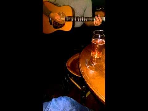 Bluegrass jam Stockholm old town