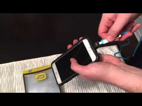 Lightning extender dock adapter for iPhone 5 5s 6 6s + Otterbox commuter defender cases,