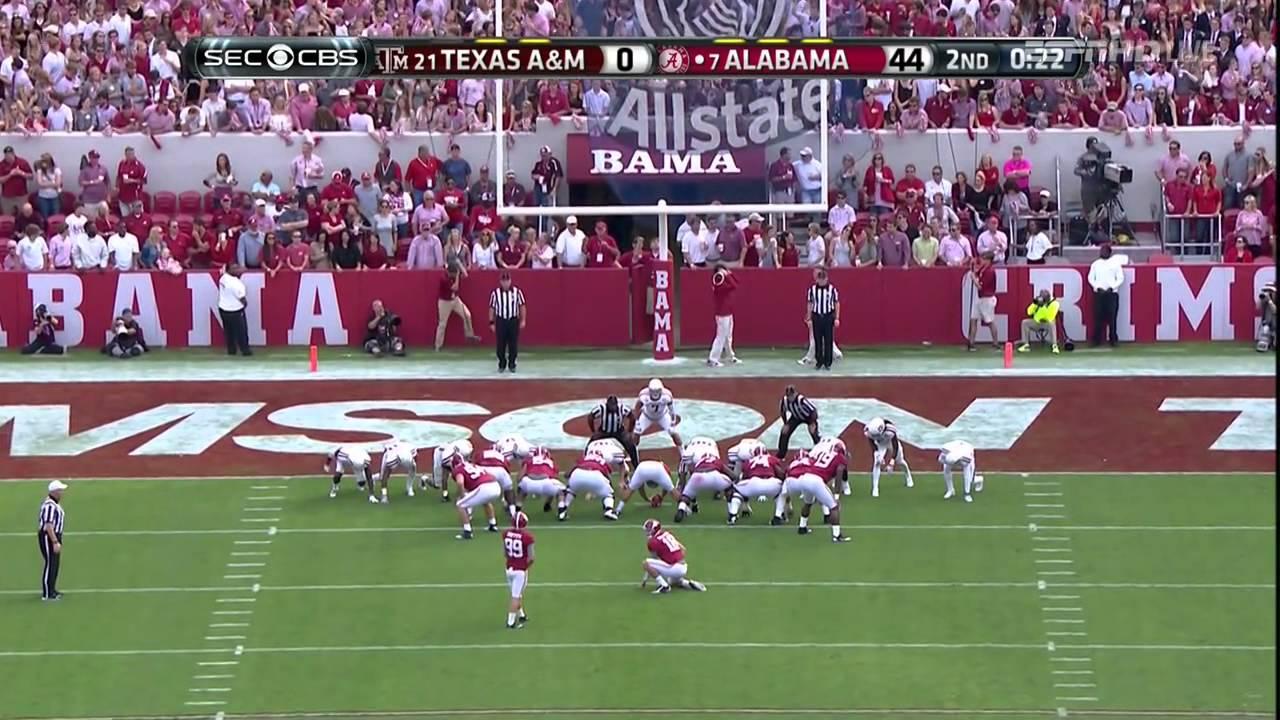 Alabama Vs Texas A M 2014 Youtube
