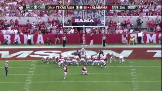 Alabama vs Texas A&M 2014