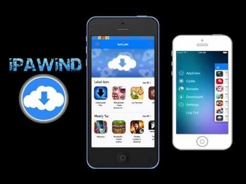 Install paid apps/games and jailbreak apps without a jailbreak using ipawind