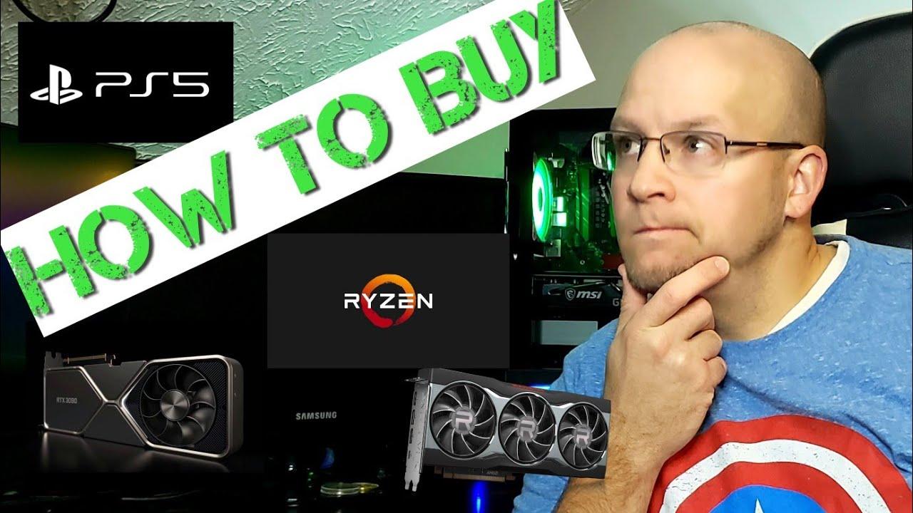 Download How to Buy: RTX 3060 ti, 3070, 3080, 3090: AMD RX 6800 XT, 6900 XT, Ryzen 5600x, 5800x, 5900x, & PS5