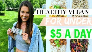FULL DAY OF EATING | UNDER $5, CALORIES & CRONOMETER