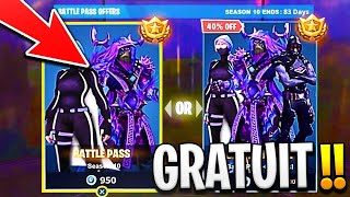 [EXCLUDED!] I OFFER THE SAISON COMBAT PAS 10 on FORTNITE #SAISON10