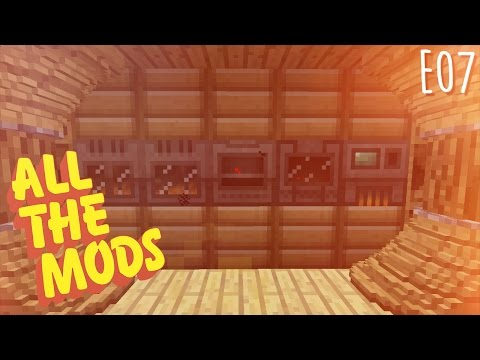 All the Mods - E07 - Mekanism 4x Ore Processing, Brine, and Phantomfaces (Modded Minecraft 1.10.2)