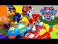 PAW Patrol: Crazy Race! Chase & Marshall Ride Smart Wheels Cars in Smart Wheels City