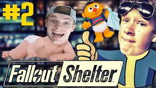 IEDEREEN MOET ZWANGER! - Fallout Shelter #2
