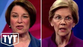 Impeach Trump? Klobuchar vs Warren at CNN Town Hall