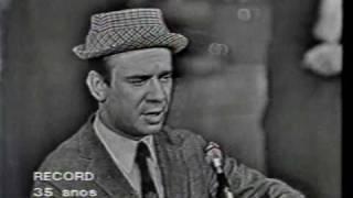 """""""A Guerra"""" - Raul Solnado - 1967 -TV Record Brasil"""