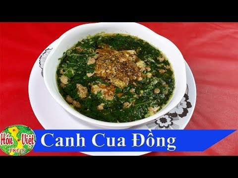 ✅ Nấu Canh Cua Đồng Với Rau Đay , Mồng Tơi Ngon Ngọt Không Cưỡng Nổi | Hồn Việt Food