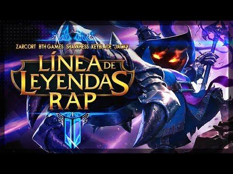 RAP LÍNEA DE LEYENDAS 2 - Zarcort, BTH, Sharkness, Keyblade, Jacky