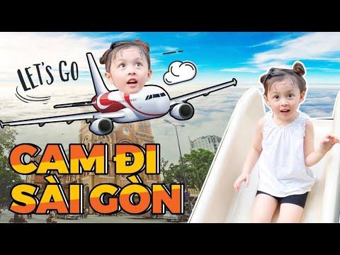 Cam đi Sài Gòn Cùng Bố Mẹ Vlog 224