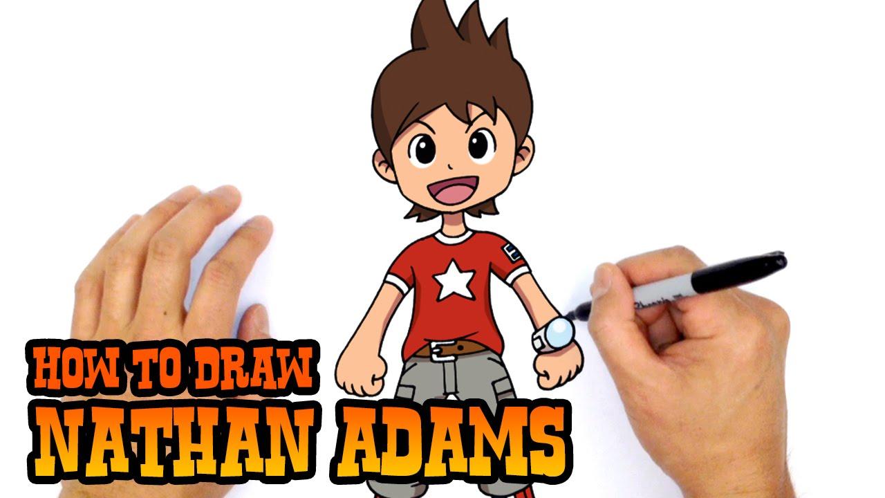 How to draw nate yo kai watch youtube