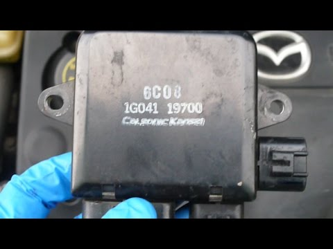 DIY Mazda 6 Cooling Fan Control module troubleshooting and replacement