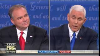What Bias? VP Debate Moderator Cuts Off Mike Pence Talking About Hillary's Basement Server