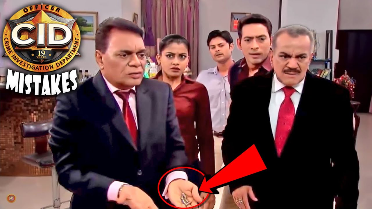 "(21 Mistakes) In CID - Plenty Mistakes In "" सीआईडी "" Full Episodes 