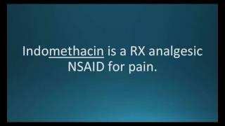 How to pronounce indomethacin (Indocin) (Memorizing Pharmacology Flashcard)