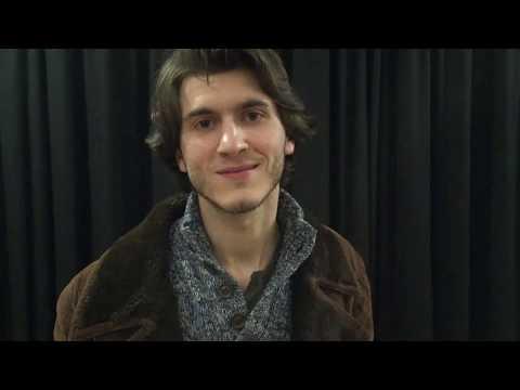 Rémy, élève comédien au Studio Muller