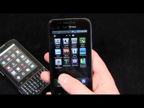 Motorola Droid Pro vs. Samsung Fascinate Dogfight Part 1