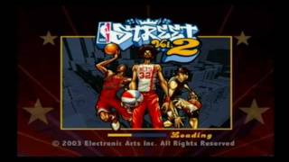 NBA Street Vol 2. (PS2) Gameplay